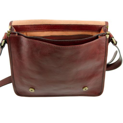 TL Postman Vegetable Tanned Leather Messenger Bag_3