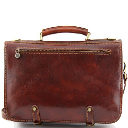 Capri Vegetable Tanned Leather Messenger Bag_3