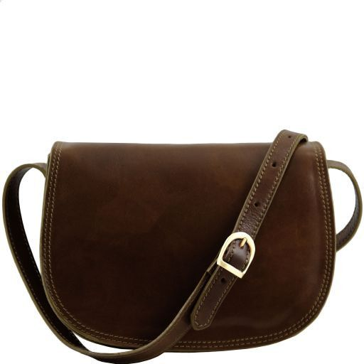 Isabella Vegetable Tanned Leather Shoulder Bag_8