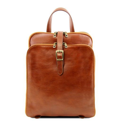 Taipei Vegetable Tanned Leather Backpack_7