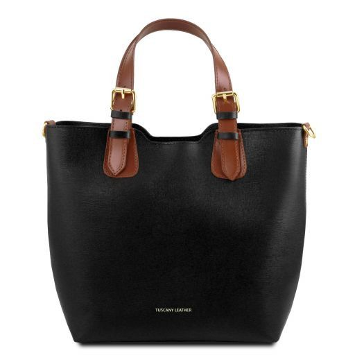 TL Saffiano Leather Tote_16