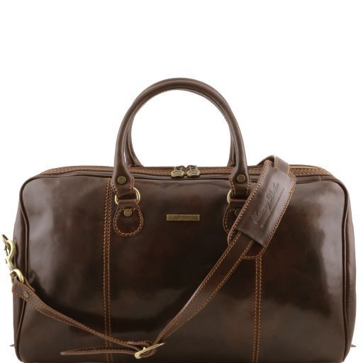 Paris - Travel leather duffle bag_1