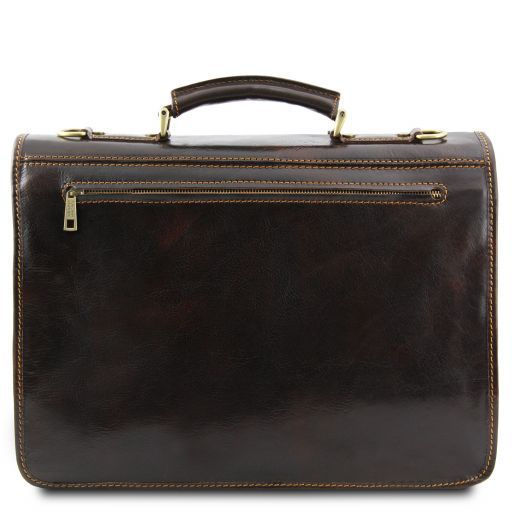 Modena Vegetable Tanned Leather Briefcase_4