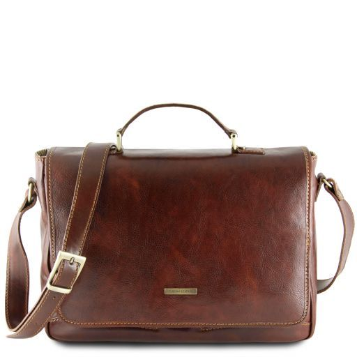 Padova Vegetable Tanned Leather Laptop Case_3