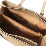 TL Saffiano Leather  Work Tote _8