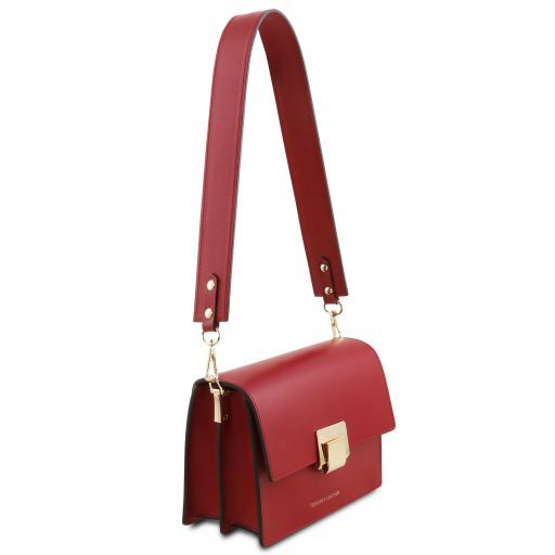 Adele Smooth Leather Clutch_5
