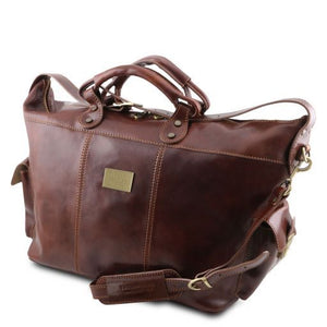 Porto - Travel leather weekender bag_2