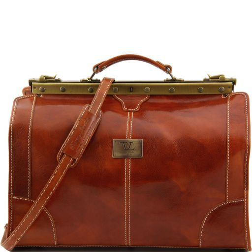 Madrid - Gladstone Leather Bag - Small size_8