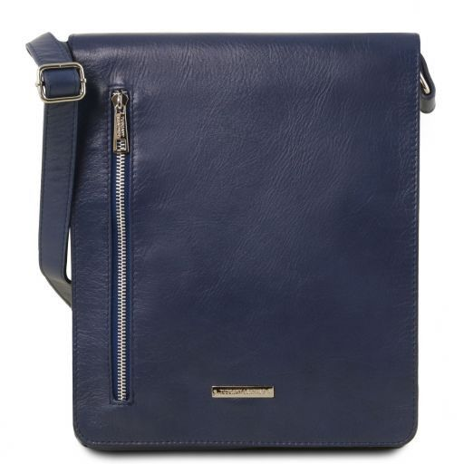Cesare Soft Leather Messenger Bag_9