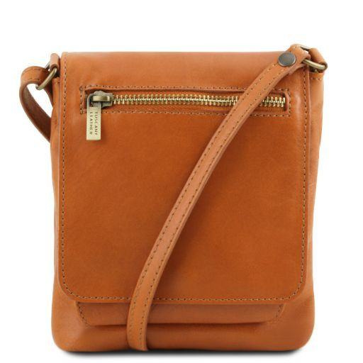 Sasha Unisex Soft Leather Messenger Bag_1