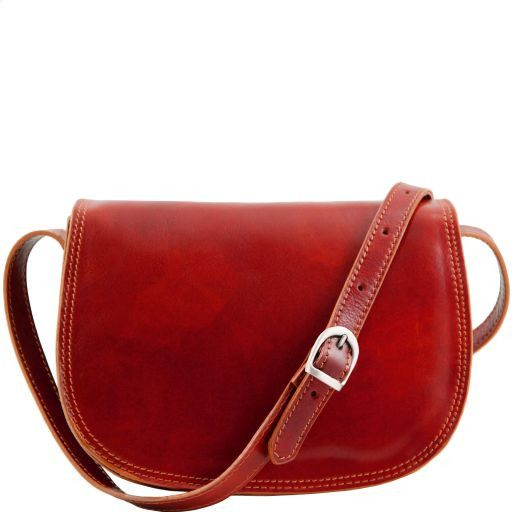 Isabella Vegetable Tanned Leather Shoulder Bag_9