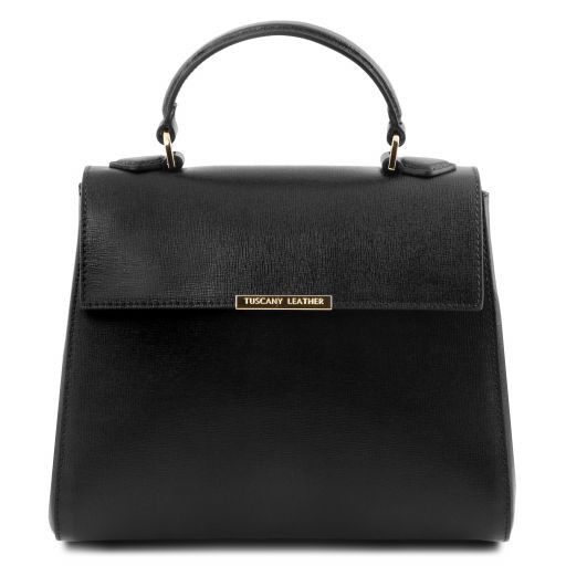 TL Small Saffiano leather Top Handle Bag_14