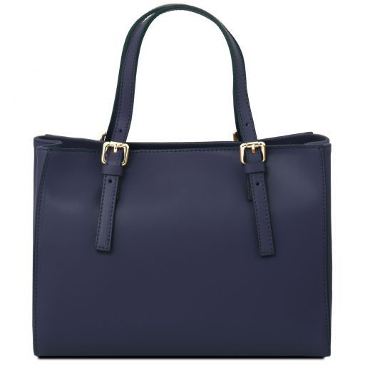 Aura Smooth Leather Satchel_12