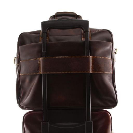 Reggio Emilia Vegetable Tanned Leather Laptop Case_6