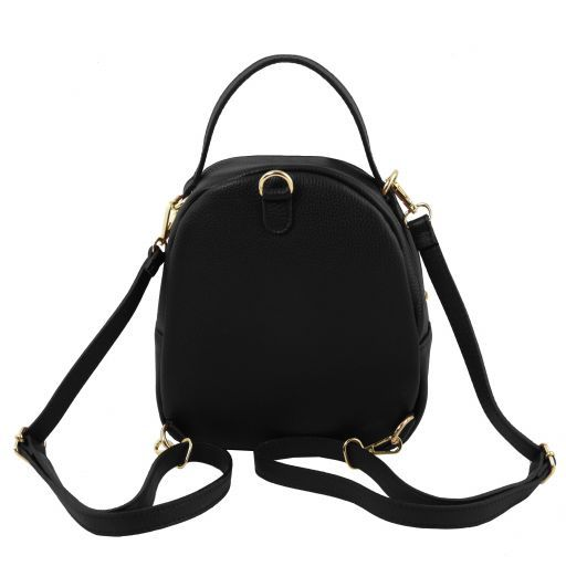 TL Hammered Leather Backpack For Women_14