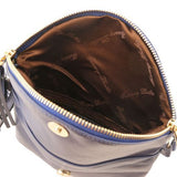 TL Young Soft Leather Shoulder Bag With Tassel_11
