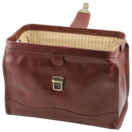 Raffaello Vegetable Tanned Leather Doctor bag_5