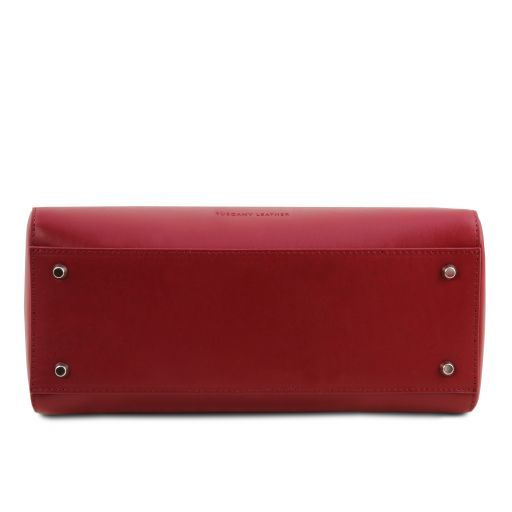 TL Smooth Leather Top Handle Bag_12