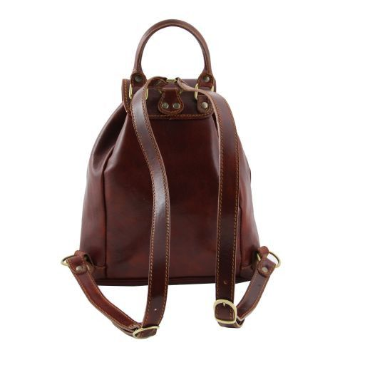 Tokyo Vegetable Tanned Leather Backpack_3
