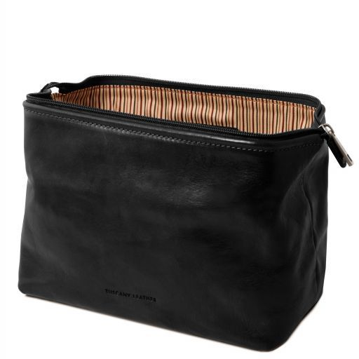 Smarty - Leather toilet bag - Large size_7