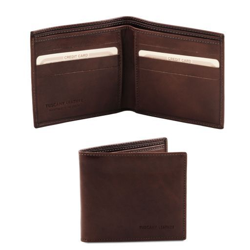 Full Grain Leather Bifod Wallet_4