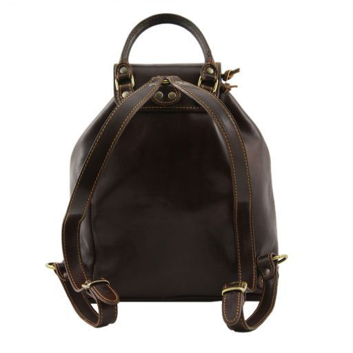 Singapore Vegetable Tanned Leather Backpack_4