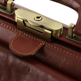 Giotto Vegetable Tanned Leather Doctor bag_7
