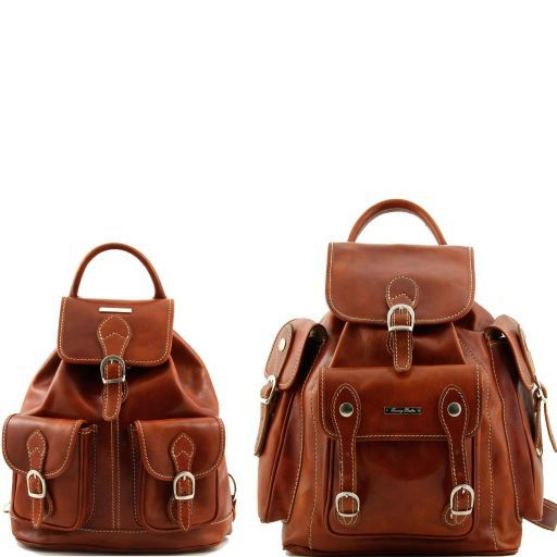 Trekker - Travel set Leather backpacks_14
