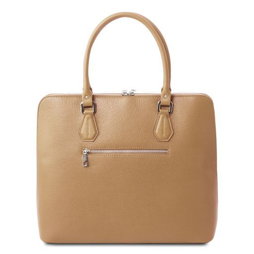 Magnolia Hammered Leather Women Business Bag _3
