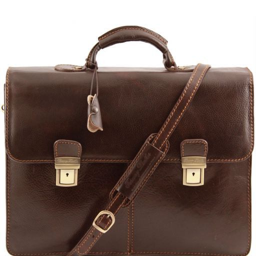 Bolgheri Vegetable Tanned Leather Briefcase_10