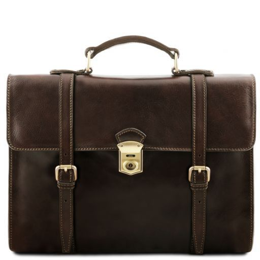 Viareggio  Vegetable Tanned Leather Laptop Case_12