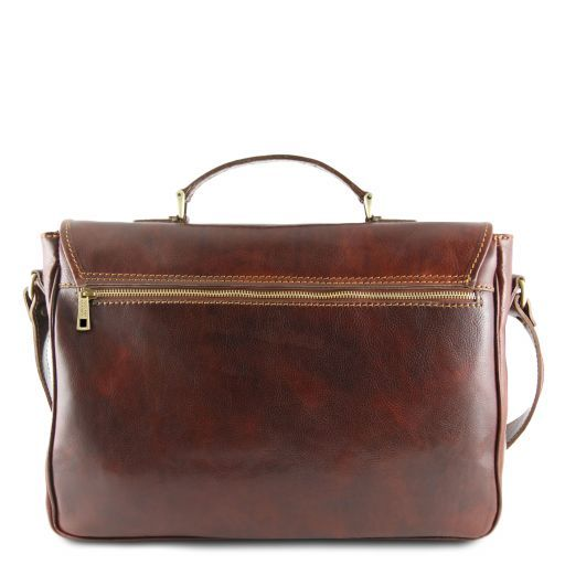 Padova Vegetable Tanned Leather Laptop Case_4