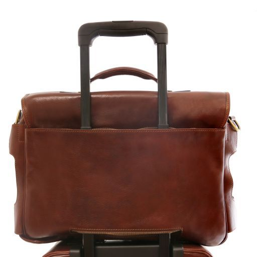 Ventimiglia Vegetable Tanned Leather TL SMART Briefcase_7