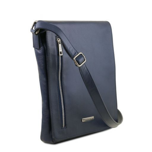 Cesare Soft Leather Messenger Bag_10