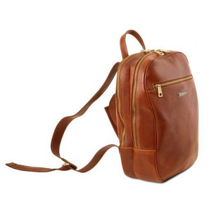 Osaka Vegetable Tanned Leather Laptop Backpack_2