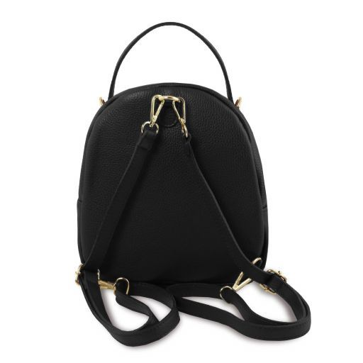 TL Hammered Leather Backpack For Women_13