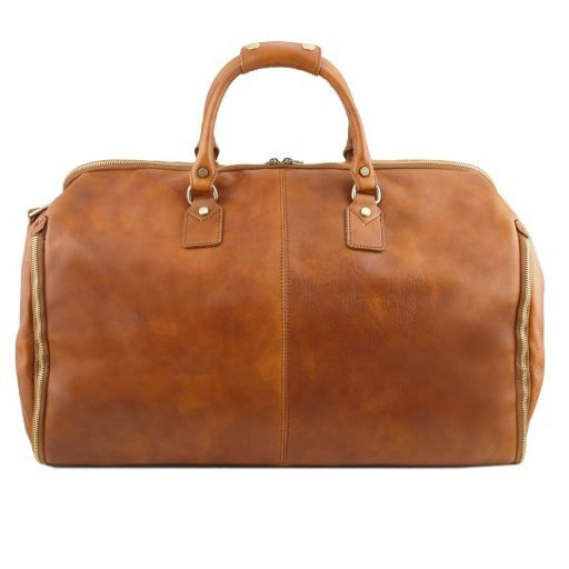 Antigua - Travel leather duffle/Garment bag_3