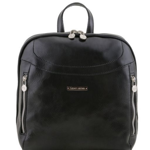 Manila Vegetable Tanned Leather Backpack_9