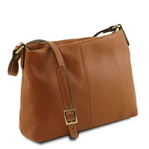 TL Hammered Leather Shoulder bag_2