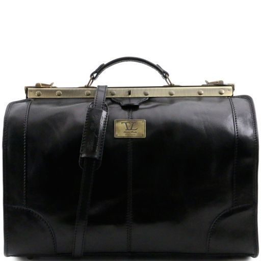 Madrid - Gladstone Leather Bag - Small size_5