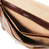 Torino Vegetable Tanned Leather Briefcase_7