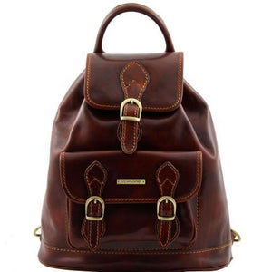 Singapore Vegetable Tanned Leather Backpack_1