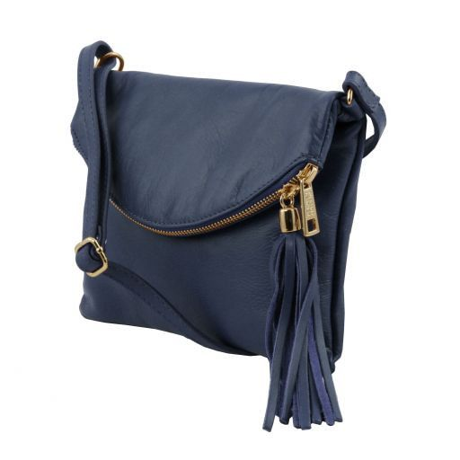 TL Young Soft Leather Shoulder Bag With Tassel_8
