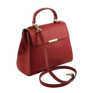 TL Small Saffiano leather Top Handle Bag_2