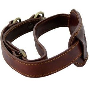 Adjustable travel bag leather shoulder strap_2