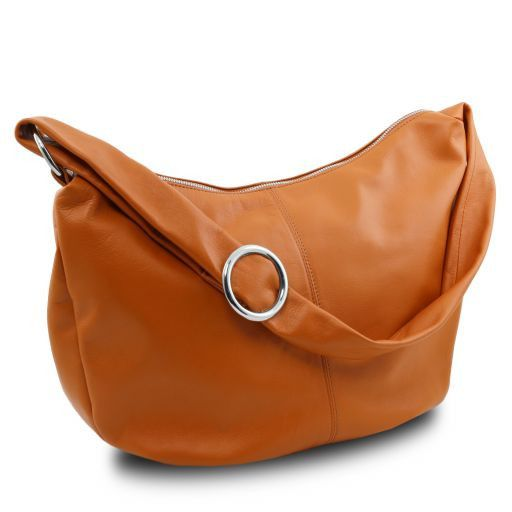 Yvette Soft leather Hobo Bag_2