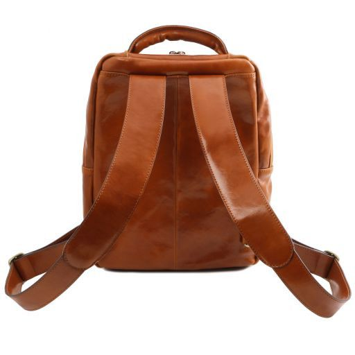 Phuket Vegetable Tanned Leather Laptop Backpack_9