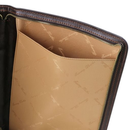 Ottavio Vegetable Tanned Leather Document Case_2