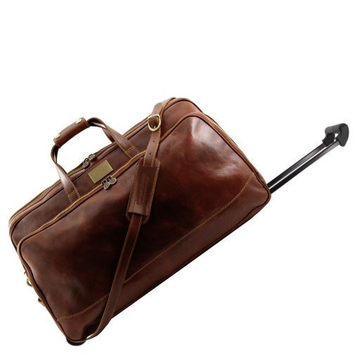 Bora Bora - Leather Trolley travel set_6