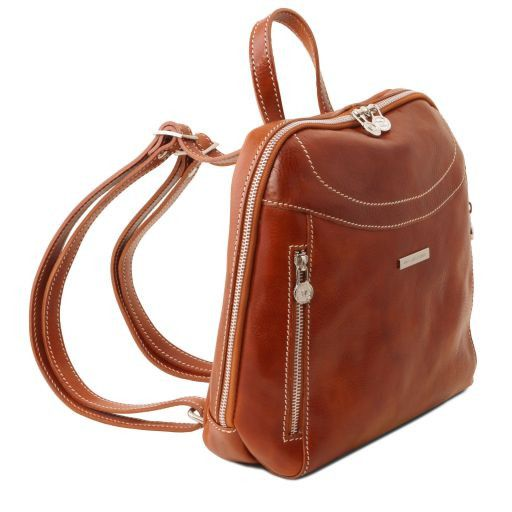 Manila Vegetable Tanned Leather Backpack_6